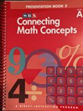 Book Cover Connecting Math Concepts, 2003 Edition, Level A Presentation Book 2 (Direct Instruction)