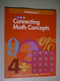 Book Cover Connecting Math Concepts - Workbook 1 Level A