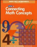 Book Cover Connecting Math Concepts Math Fact Worksheets, Level B (Blackline Masters)