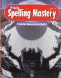 Book Cover Spelling Mastery Level A, Teacher Presentation Book