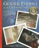 Book Cover Criminal Evidence for the Law Enforcement Officer with CDROM