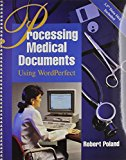 Book Cover Processing Medical Documents Using WordPerfect