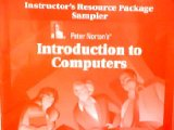 Book Cover Instructor's Resource Package Sampler: Peter Norton's Introduction to Computers