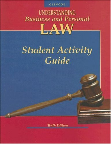 Book Cover Understanding Business and Personal Law, Student Activity Guide