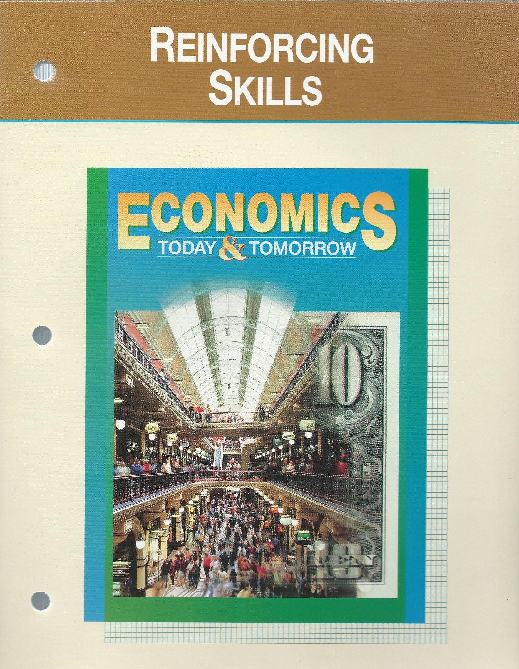 Book Cover Reinforcing Skills (Glencoe Economics Today & Tomorrow)