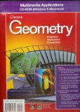 Book Cover Multimedia Applications CD-ROM (Glencoe Geometry Integration Applications Connections)