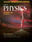 Book Cover Glencoe Physics: Principles and Problems - Teacher Wraparound Edition 1999