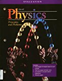 Book Cover Physics Principles and Problems Evaluation