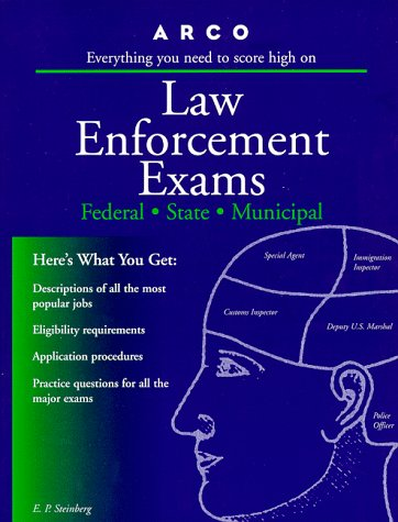 Book Cover Arco Law Enforcement Exams: Federal, State, Municipal