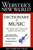 Book Cover Webster's New World Dictionary of Music