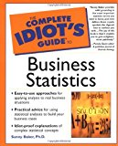 Book Cover The Complete Idiot's Guide to Business Statistics