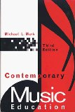Book Cover Contemporary Music Education