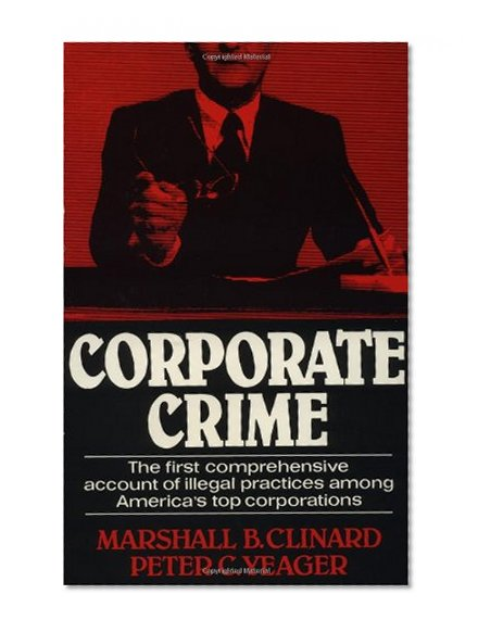 Book Cover Corporate Crime (Law and Society Series)
