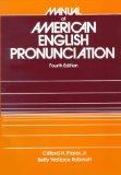 Book Cover Manual of American English Pronunciation