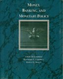 Book Cover Money, Banking, and Monetary Policy (The Dryden Press series in economics)