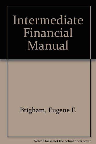Book Cover Intermediate Financial Manual