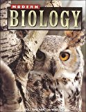 Book Cover Holt Modern Biology: Student Edition Grades 9-12 1999