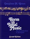 Book Cover Form in Tonal Music: An Introduction to Analysis, Second Edition