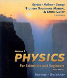 Book Cover Physics For Scientists & Engineers Study Guide, Vol 1, 5th Edition