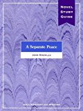Book Cover A Separate Peace Novel Study Guide
