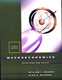 Book Cover Macroeconomics: Principles And Policy