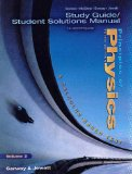 Book Cover Study Guide Student Solutions Manual to Accompany Principles of Physics (Volume 2)