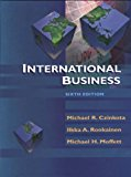 Book Cover International Business, 6th Edition
