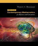Book Cover Contemporary Mathematics for Business and Consumers