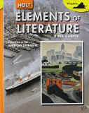 Book Cover Elements of Literature: Essentials of American Literature, Fifth Course (Virginia  Edition)