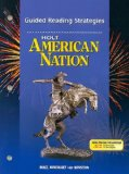 Book Cover Holt American Nation: Guided Reading Strategies Grades 9-12