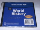 Book Cover Holt World History Ancient Civilizations: Quiz Game CD-ROM