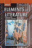Book Cover Holt Elements of Literature, 5th Course: Essentials of American Literature, Teacher's Edition