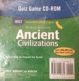 Book Cover Holt World History California: Quiz Game CD-ROM Grades 6-8 Ancient Civilizations