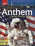 Book Cover American Anthem, Modern American History: Student Edition 2007