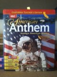 Book Cover Holt American Anthem Modern American History [CA Teacher's Edition]