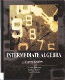 Book Cover Intermediate Algebra