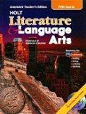 Book Cover Essentials of American Literature (Fifth Course) (Holt Literature & Language Arts)