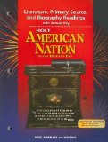 Book Cover Holt American Nation in the Modern Era Literature, Primary Source, and Biography Readings with Answer Key