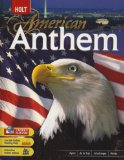 Book Cover American Anthem: Student Edition 2007