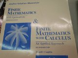 Book Cover Finite Mathematics with Applications & Finite Mathematics with Calculus, Student Solutions Manual