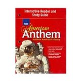Book Cover American Anthem, Modern American History: Interactive Reader and Study Guide