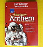 Book Cover American Anthem, Modern American History: Daily Bellringer Transparencies