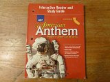 Book Cover American Anthem, Modern American History, California Edition (Interactive Reader and Study Guide)