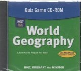 Book Cover Holt World Geography: Quiz Game CD