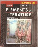 Book Cover Holt Element of Literature: Essential of American Literature, 5th Course