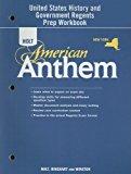 Book Cover Holt McDougal American Anthem ? 2009 New York: Regents Preparation Workbook