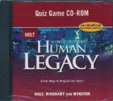 Book Cover World History: Human Legacy: Quiz Game CD-ROM