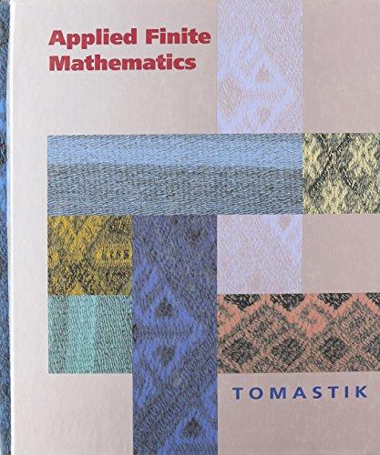 Book Cover Applied Finite Mathematics