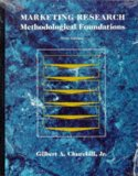Book Cover Marketing Research: Methodological Foundations