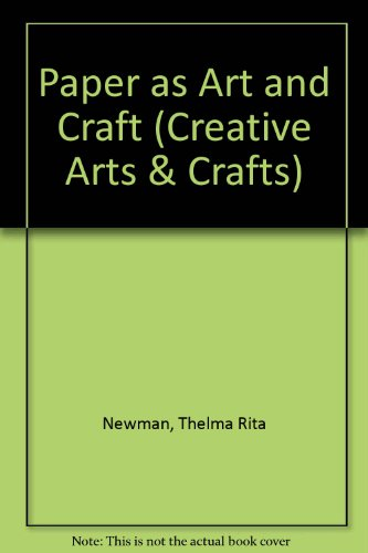 Book Cover Paper as Art and Craft (Creative Arts & Crafts)